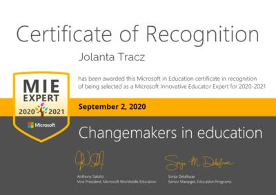 Certyfikat MIE-Tracz Jolanta.png