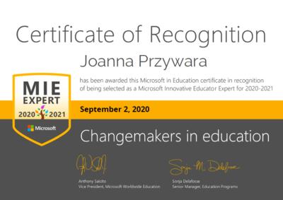 Certyfikat MIEE- Joanna Przywara.png